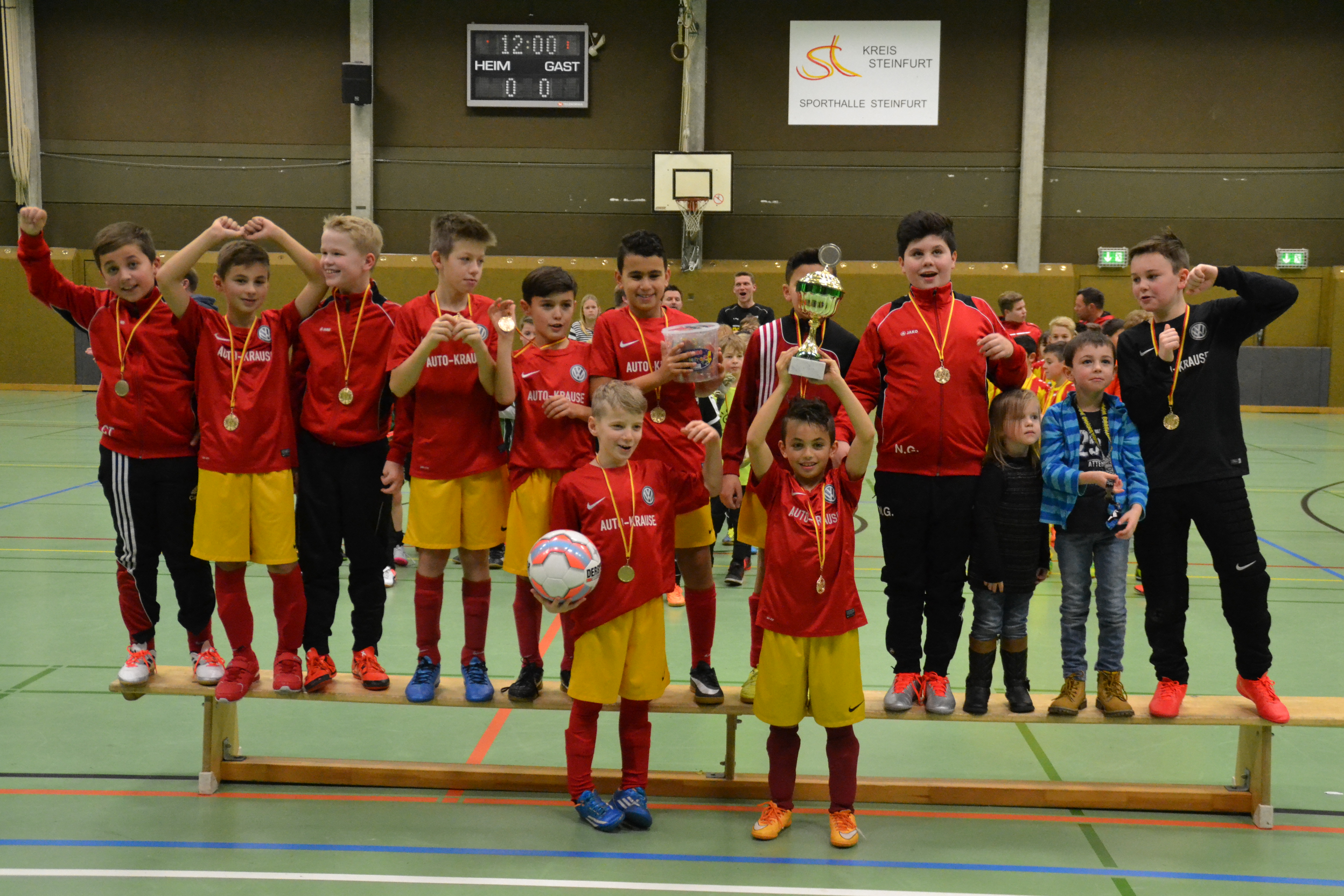Turniersieger E2/3 SVB