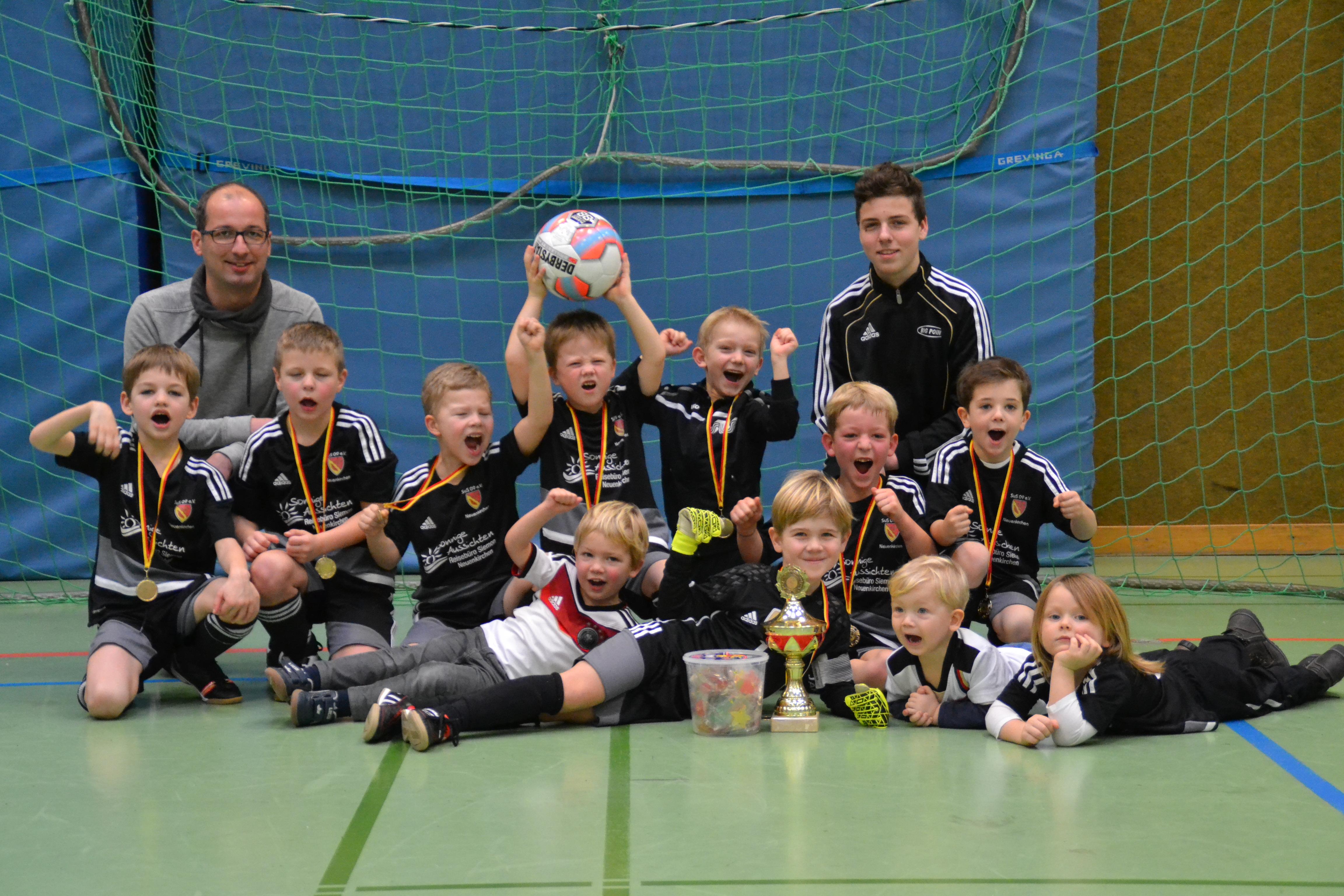 Turniersieger Minis SuS Neuenkirchen